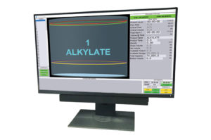 Photo of monitor with WINGauge Inventory Management System
