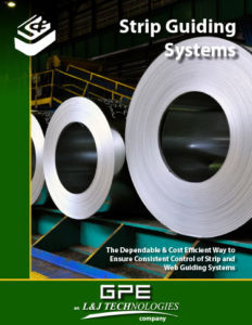 GPE Strip Guiding Systems brochure