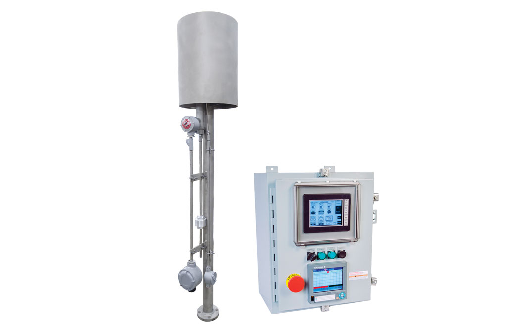 Photo of 97300T Waste Gas Burner with Touch Screen Control Panel