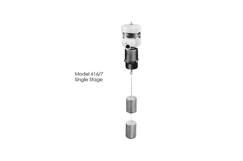 Photo of 616 / 716 Top Mounted Level Control Switches Stainless Steel Displacers