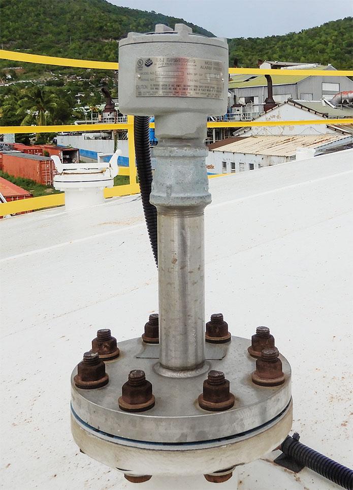 Photo of 1090 Level Alarm Probe